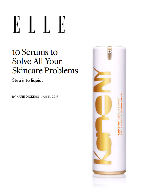 Elle - 8 Serums to Solve All Your Skincare Problems (May, 2016)
